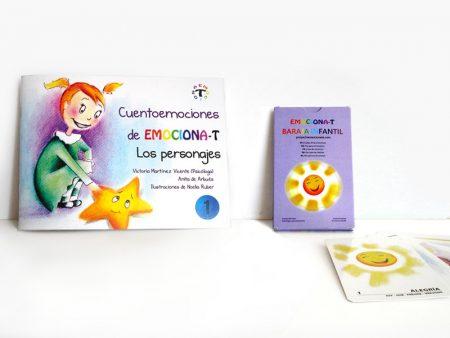Cuentos infantiles para educar y baraja de cartas